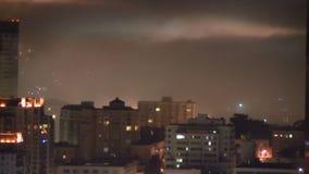 Foggy san francisco night stock video footage