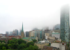 Foggy Toronto Stock Photos