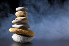 Foggy Zen Royalty Free Stock Photos
