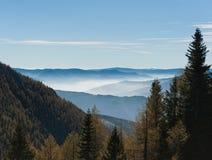 FoggyLandscape Στοκ Εικόνα