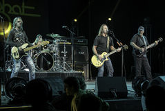 Foghat Live at the CNE 2015 Toronto 5 Stock Photography