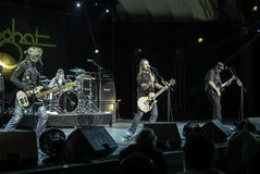 Foghat Live at the CNE 2015 Toronto 4 Stock Photography