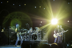 Foghat Live at the CNE 2015 Toronto 7 Royalty Free Stock Images