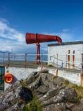 Foghorn Ardnamurchan latarnia morska Zdjęcie Royalty Free
