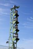The foghorn at Cape Columbine Stock Photos
