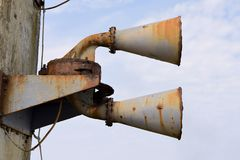 Foghorn Royalty Free Stock Photo