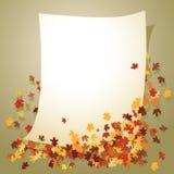Fogli di autunno illustrazione di stock