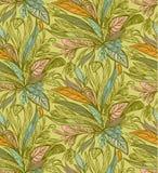 Fogli di autunno del reticolo royalty illustrazione gratis