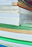 Fogli di carta occupati Immagini Stock Libere da Diritti