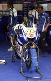 Fogli di Valentino Rossi per Ducati Immagine Stock