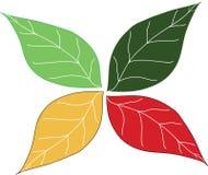 fogli di verde royalty illustrazione gratis