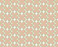 Foglia rosa del trifoglio Fotografia Stock