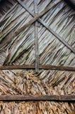 Foglia secca tetto Fotografia Stock