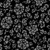 Foglia senza cuciture antica del fiore del giardino botanico del fondo illustrazione di stock