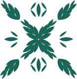 Foglia verde romana Fotografia Stock Libera da Diritti