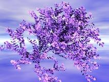 Fogliame del fiore Immagini Stock