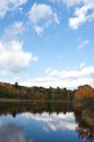 Fogliame di autunno del Connecticut Immagini Stock Libere da Diritti