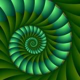 Fogliame a spirale Immagine Stock