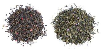Foglie di tè Fotografia Stock