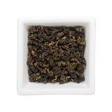 Foglie di tè di Oolong Fotografie Stock