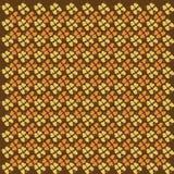 Foglie gialle ed arancio di un tiglio Reticolo Fotografia Stock