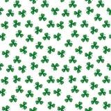 Foglie verdi del trifoglio Fotografia Stock Libera da Diritti