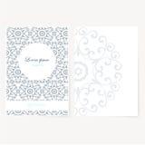 Foglio di carta decorativo con progettazione orientale Fotografie Stock