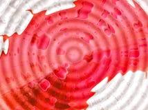 Foglio di colore rosso di anima Fotografia Stock