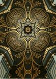Foglio di oro cross2 Fotografie Stock
