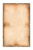 Foglio di vecchia carta Immagini Stock