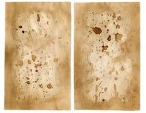 Vecchia carta 7 Fotografie Stock Libere da Diritti