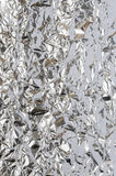 di alluminio sgualcito Fotografia Stock