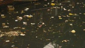 Fogna sporca in città Asia archivi video