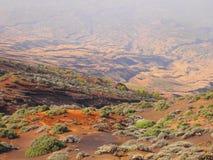 Fogo ö, Kap Verde Arkivfoto