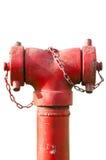 Fogo da conexão da mangueira da boca de incêndio de fogo Fotos de Stock Royalty Free