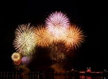 fogo-de-artifício Foto de Stock Royalty Free