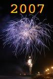 Fogo-de-artifício Foto de Stock
