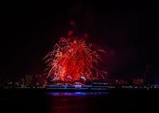 Fogo de artifício de Brautiful Foto de Stock