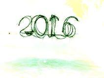 Fogo-de-artifício do ano novo Fotografia de Stock Royalty Free