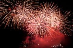 Fogo-de-artifício do feriado. Fotografia de Stock Royalty Free