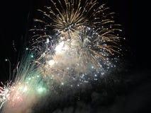 Fogo de artifício em Cattolica fotos de stock royalty free