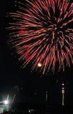 Fogo-de-artifício em Viena no.3 Foto de Stock Royalty Free
