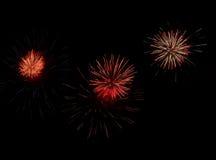 Fogo-de-artifício Imagem de Stock