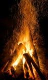 Fogo do evento dos plenos verões Imagem de Stock Royalty Free