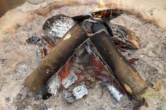 Fogo do inverno Imagem de Stock Royalty Free