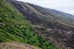 Fogo, eine vulkanische Oase Stockbild