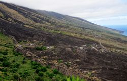 Fogo, eine vulkanische Oase Lizenzfreies Stockbild