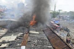 Fogo Kanjengan Semarang do mercado de Johar Imagem de Stock