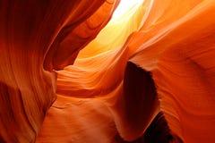Fogo na caverna Imagens de Stock