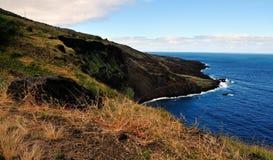 Fogo und es sind Küstenlinie Stockfotografie